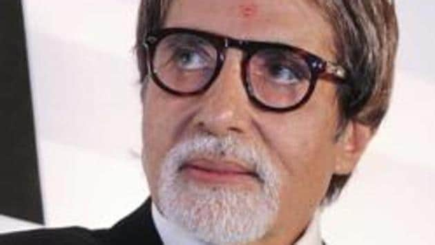 Amitabh Bachchan has told director Krishna Vamsi that he will consider the offer after June 2017 as he is tied up with commitments till then.(RAJESH KASHYAP / HT Photo)