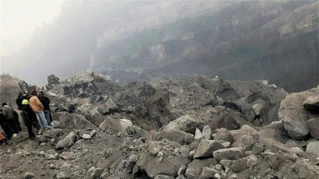 A private company, Mahalaxmi, was mining coal at the site in Jharkhand's Godda district where the accident took place on Thursday night.(PTI Photo)