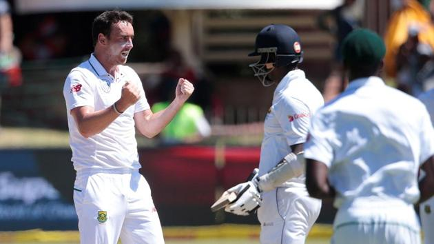 South Africa took the remaining wickets quickly on day five of the Port Elizabeth Test as they defeated Sri Lanka by 206 runs to take a 1-0 lead in the three-Test series.(AFP)