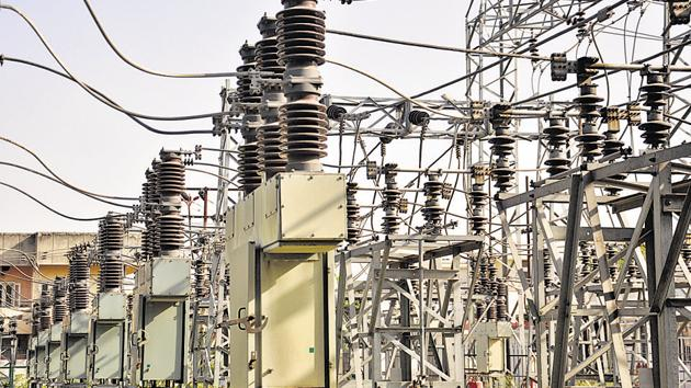 File photo of a power supply facility in India.(HT Photo)