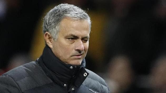 Jose Mourinho is quite upbeat ahead of Manchester United FC's match against Middlesbrough FC.(REUTERS)