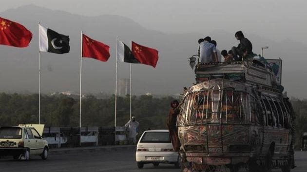 The power transmission line project is the latest in a series of big Chinese investments, most of which fall under a planned $55 billion worth of projects for a China Pakistan Economic Corridor(Reuters file photo)
