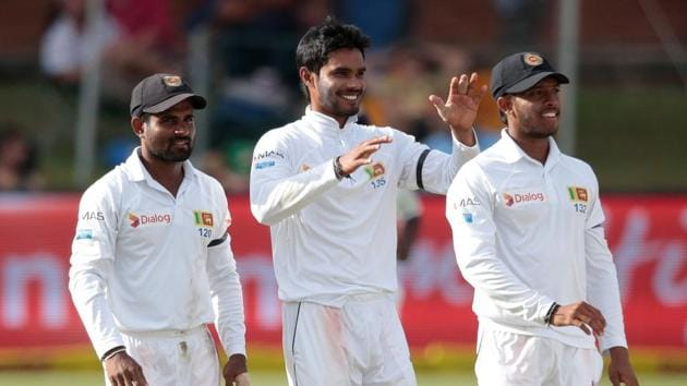 Angelo Mathews spoke about the need for his team to be mentally tough when they meet South Africa in the second Test starting at Newlands.(AFP)