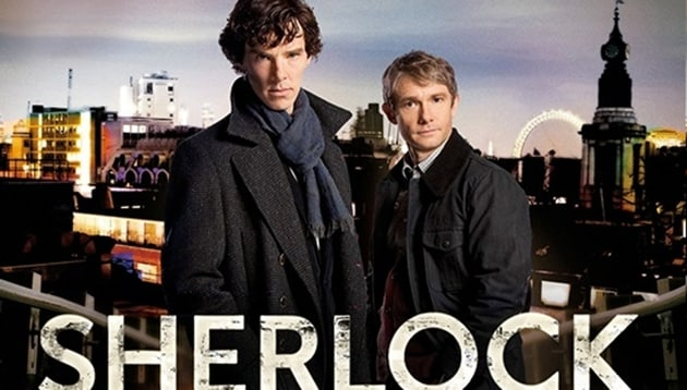 The growing Hollywood success of Sherlock stars Benedict Cumberbatch and Martin Freeman could mean that the show might end with season four, the co-creator of the show said.
