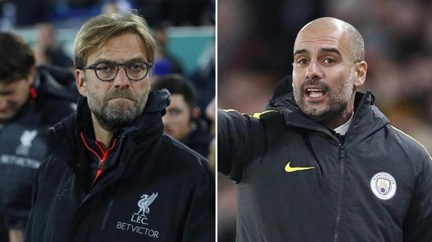 Manchester City FC manager Pep Guardiola heaped praise on Juergen Klopp, saying his Liverpool FC counterpart was the best when it comes to instilling an attacking style of play at a club.(Agencies)