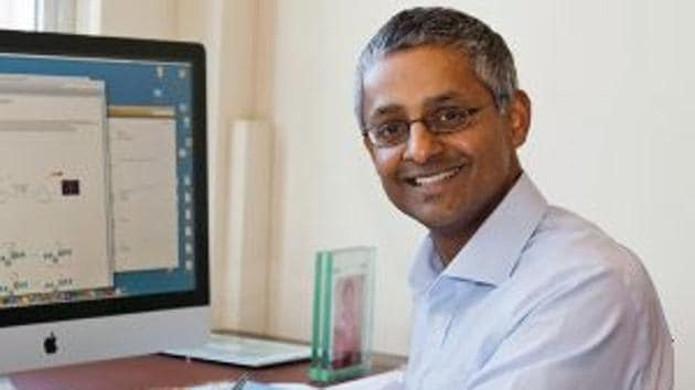 File photo of the Chennai-born co-inventor of Next Generation DNA sequencing.(Courtesy The Balasubramanian Group)