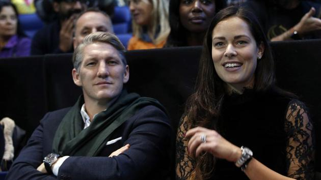 Bastian Schweinsteiger expressed support for his wife Ana Ivanovic's decision to retire at the age of 29.(REUTERS)