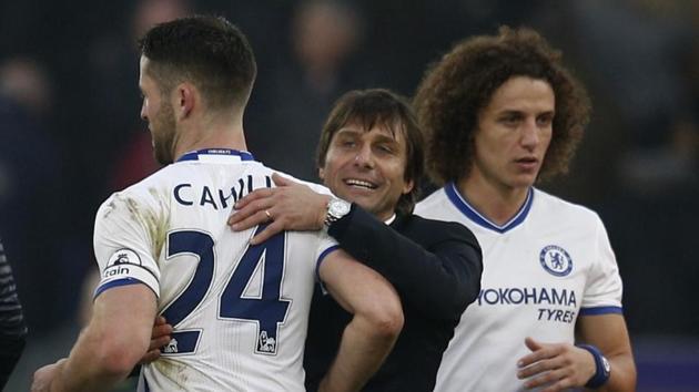 Chelsea FC manager Antonio Conte asked his players to be cautious ahead of their Premier League match against Stoke City FC.(REUTERS)