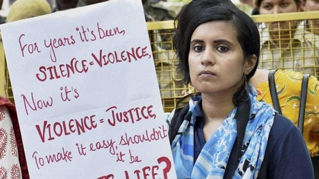 Protests against the Jisha rape and murder case(HT)