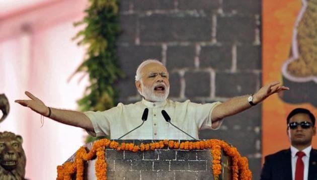 Prime Minister Narendra Modi in Mumbai on December 24, 2016.(Reuters File)
