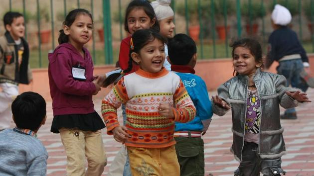 The popularity of a school is also something which parents lookout for while deciding on a school.(Vipin Kumar/HT File Photo)