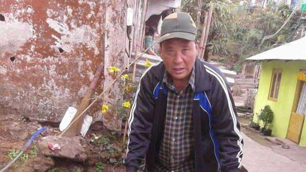 Every year Tamang treats the dogs of his locality to specially cooked meals.(HT Photo)