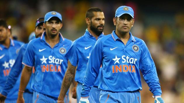 Mahendra Singh Dhoni has quit as Indian cricket team's limited overs skipper. The home ODIs and T20s against England will be Dhoni's last international series.(Getty Images)