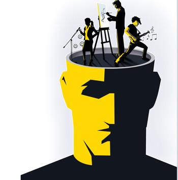 Movies, music and comedy are encouring people to acknowledge mental health(Illustration: Srikrishna Patkar/HT)