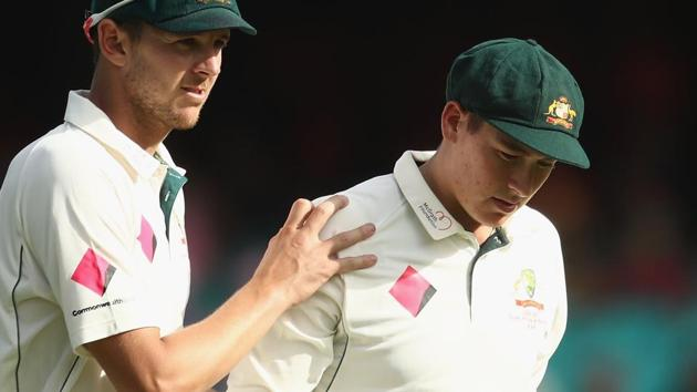 Matt Renshaw withdrew from the Sydney Test after he suffered a blow to the head twice in the game between Australia and Pakistan.(Getty Images)