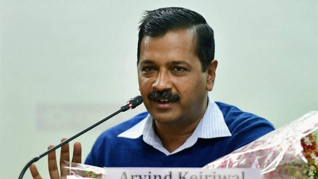 New Delhi: Delhi Chief Minister Arvind Kejriwal addresses the gathering during the release of 2017's calender theme based on 'Heritage of Delhi' at Vidhan Sabha in New Delhi on Saturday.PTI Photo by Manvender Vashist(PTI12_31_2016_000071b)(PTI)