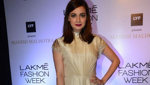 Dia Mirza says that she is disappointed with the kind of stereotypical roles being offers to female actors.(Viral Bhayani)