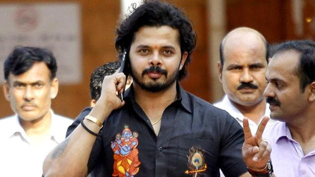 S Sreesanth is looking forward to a stint in the Scottish league after signing up for Glenrothes Cricket Club.(HT photo)