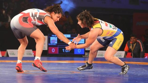 Mumbai Maharathi pulled off a superb comeback to beat Delhi Sultans 4-3 and enter the semi-finals of the Pro Wrestling League (PWL) at the KD Jadhav Indoor Stadium in New Delhi on Friday.(ProSportify)