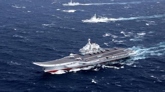 China claims most of the energy-rich South China Sea through which about $5 trillion in ship-borne trade passes every year. Neighbours Brunei, Malaysia, Taiwan and Vietnam also have claims(REUTERS FILE)