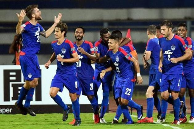 Bengaluru FC will face Abahani Limited Dhaka in their AFC Cup group-stage encounter.(PTI)