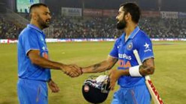 Virat Kohli has said MS Dhoni's inputs will be crucial when DRS is being taken in the India vs England series.(Photo by: Deepak Malik/ BCCI/ SPORTZPICS)