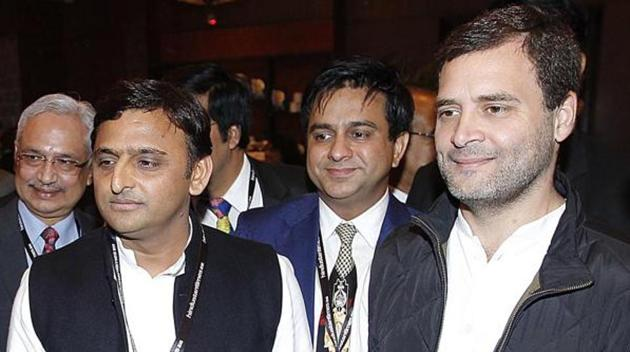 The Congress wants to alleviate its trust deficit with the Samajwadi Party by aligning with its younger leadership.(Raj K Raj/Hindustan Times)