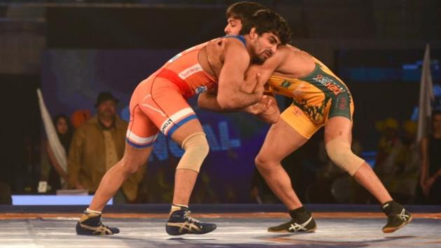Haryana Hammers entered the Pro Wrestling League (PWL) final for the second consecutive year with a comfortable 6-3 win over Jaipur Ninjas in their semi-final contest.(ProSportify)