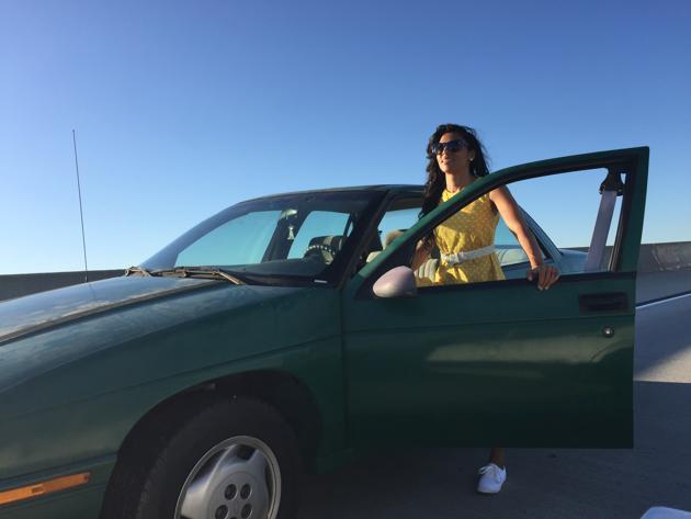 Reshma Gajjar in La La Land's opening number, Another Day of Sun(Hunter Hamilton)