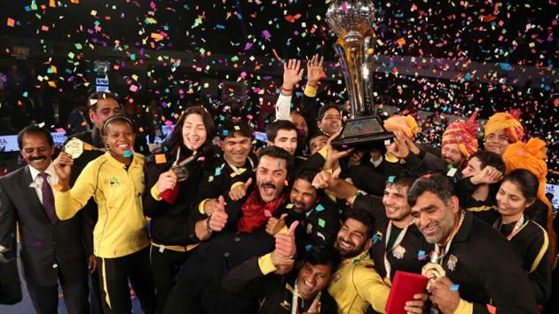 Punjab Royals produced a brilliant comeback to win the second edition of the Pro Wrestling League (PWL) after defeating Haryana Hammers 5-4 in the final.(ProSportify)