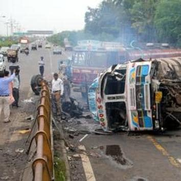 The Eastern Freeway and the Eastern Express Highway (EEH) are prone to fatal accidents mainly because of speeding , according to the traffic police.(File)