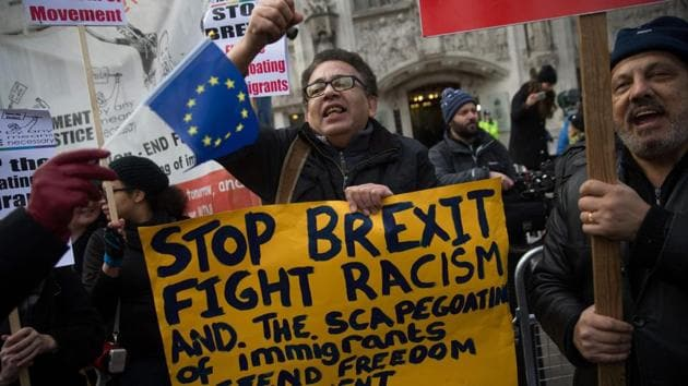 """Thirty-two per cent of those surveyed said they """"felt like crying"""" after the Brexit vote, a figure that was even higher (46% ) among voters aged 18-24 years."""