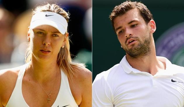 Grigor Dimitrov split with Russian tennis superstar Maria Sharapova in 2015.(Getty Images)
