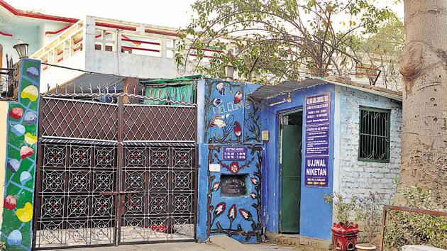 Ujjwal Niketan Charitable Trust in Sector 4 is under the scanner for flouting Juvenile Justice Act, 2015, norms(Parveen Kumar/HT Photo)
