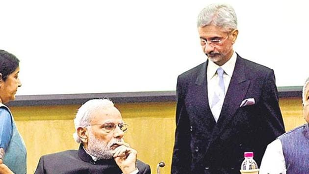 Broad ideological convergence, a risk-taking appetite, and smooth operational relationships make S Jaishankar PM Modi's favourite diplomat.(PTI File Photo)