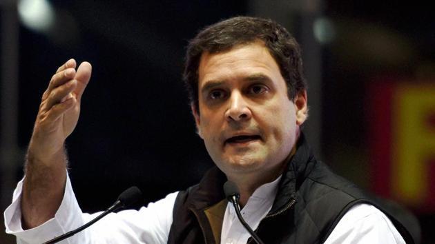 Congress vice-president Rahul Gandhi.(PTI File Photo)