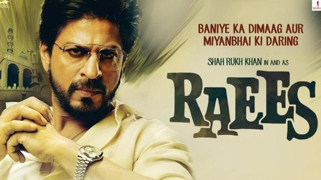 Raees is fast-paced but it also feels like 20 episodes squeezed into three hours.