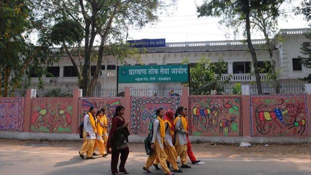 Jharkhand Public Services Commission in Ranchi(Parwaz Khan/HT Photo)