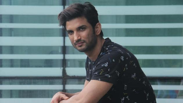 """""""I did it to show that the unfortunate action is not what everyone with that surname endorses,"""" Sushant Singh Rajput said.(Pramod Thakur/HT Photo)"""