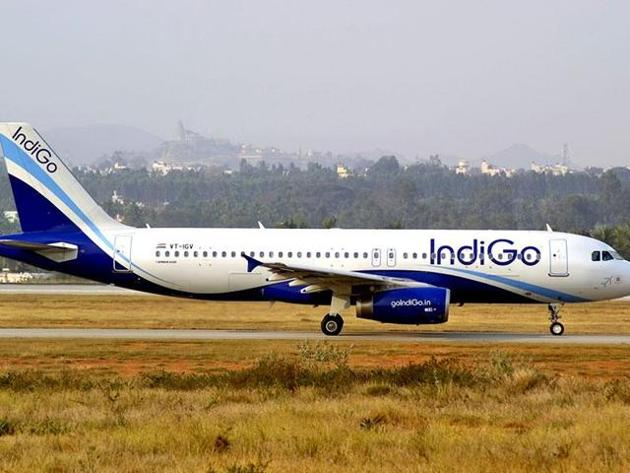 Indigo airlines claimed that its twitter account was hacked from a device located in Texas, USA.(HT Photo)
