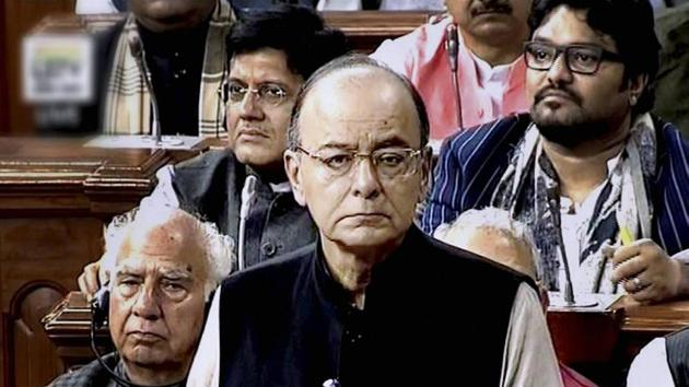 The budget is about policy while the budget speech is about politics. How did finance minister Arun Jaitley measure up?(PTI)