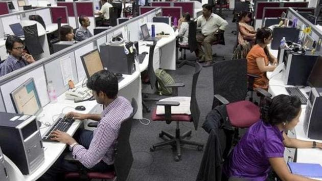 The report calls for 80% reservation for locals in clerical jobs, and 65% reservation in high-skilled or category 'A' jobs.(HT File)