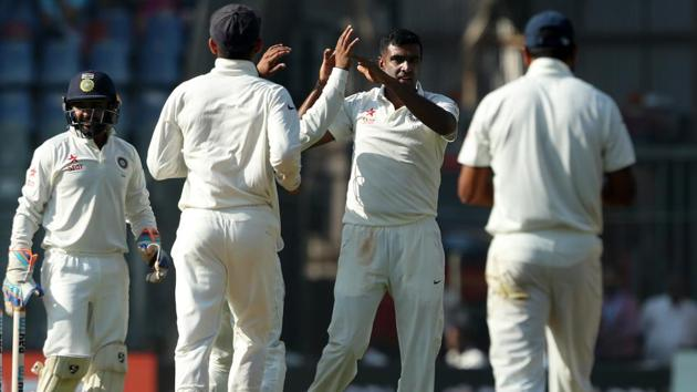 Australia will have to face trial by spin yet again in the upcoming series vs India, with Ravichandran Ashwin and Ravindra Jadeja in top form.(BCCI)