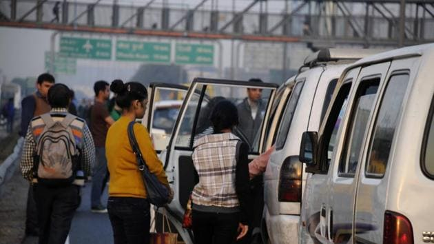 The administration has asked firms to install GPS devices in the pick and drop vehicles within a month.(HT File)