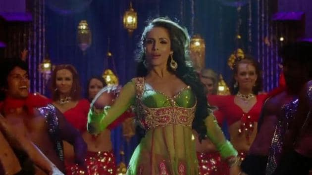 Malaiks Arora Khan in a still from Anarkali Disco Chali, one of her recent dance numbers.