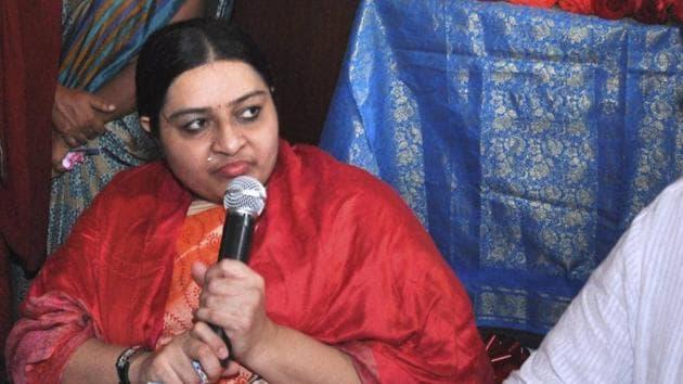 Former Tamil Nadu Chief Minister Jayalalithaa's niece Deepa Jayakumar.(PTI File Photo)