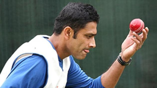 Anil Kumble is the highest wicket-taking Indian bowler in both Tests and ODIs.(AFP)