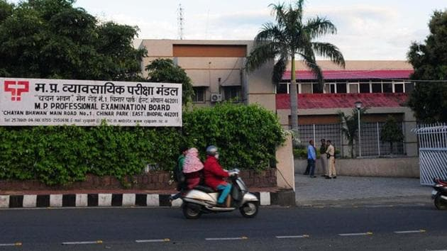 Vyapam is likely to cancel the candidature of 62 more students who appeared in PMT between 2008 and 2011. ()(Mujeeb Faruqui/Hindustan Times)