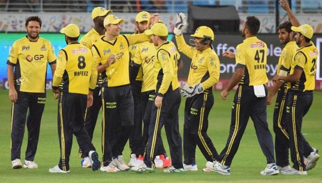 Pakistan Super League witnessed its lowest ever score as Peshawar Zalmi beat Lahore Qalandars.