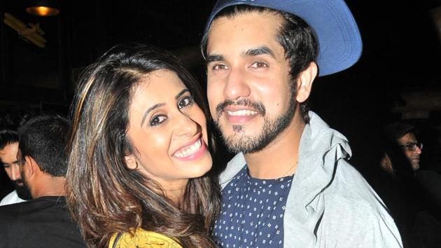 Actors Kishwer Merchantt and Suyyash Rai tied the knot in December 2016.(Hindustan Times)